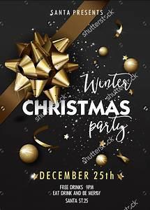 Christmas Flyer Template Word 36 Christmas Party Invitation Templates Psd Ai Word