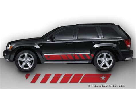 jeep grand cherokee   custom vinyl decal wrap