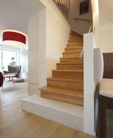 Treppe Im Wohnraum Integrieren by Treppe In Einem Reihenhaus Innenarchitekt In M 252 Nchen