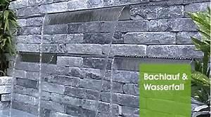 Wasserlauf Garten Modern : edelstahl wasserfall edelstahl wasserspiele wasserspiele oase oase ~ Markanthonyermac.com Haus und Dekorationen