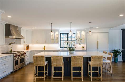 white modern kitchen  compac quartz counters