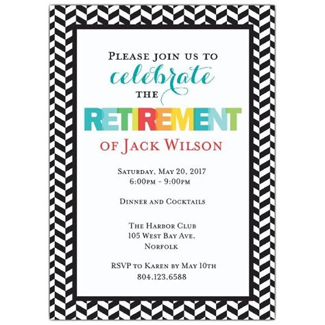 create  retirement party invitations printable