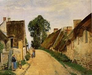Plombier Auvers Sur Oise : village street auvers sur oise 1873 camille pissarro ~ Premium-room.com Idées de Décoration