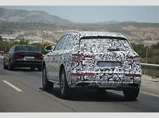 2017 Audi Q5 Makes Spy Photo Debut with New Family Face