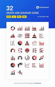 Graph And Diagram Icon Pack