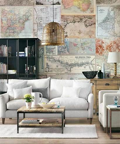 Living Rooms Modern Wall Timeless Scream Decor