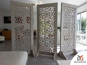 Claustra Decoratif Interieur : claustra d angle int rieur les mod les allure et bois ~ Teatrodelosmanantiales.com Idées de Décoration