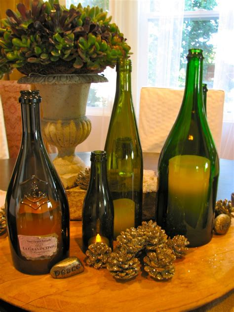 wine bottle candle holder 5 do it yourself projects to make with empty wine bottles
