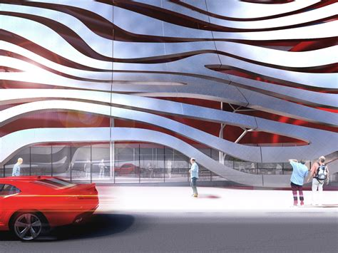 Los Angeles Automobile Museum by Petersen Automotive Museum Unveils Eye Catching New
