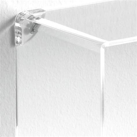 immagini mensole parete set di 3 cubi mensole klever da parete in metacrilato