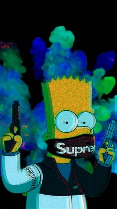 Bart Supreme Wallpapers Simpson Simpsons Iphone Backgrounds