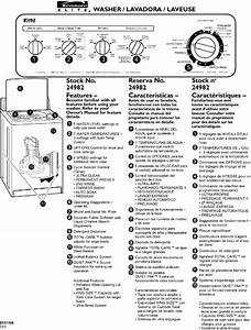 Kenmore 11024982300 User Manual Automatic Washer Manuals
