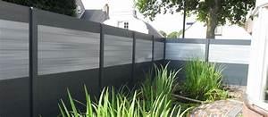 Panneau Brise Vue Composite : cloture brise vue jardin brise vue composite chromeleon ~ Nature-et-papiers.com Idées de Décoration