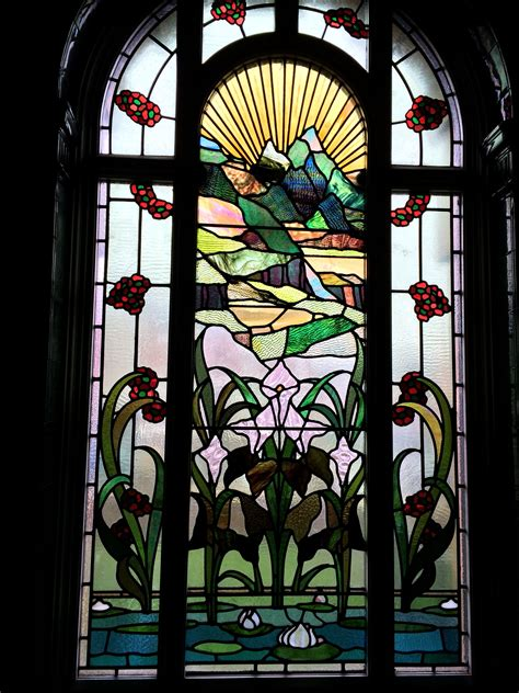 stained glass window  victoria baths manchester