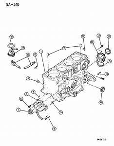 Jeep Wrangler Dowel  Pin  Block To Cylinder Head  Camshaft