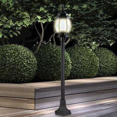 Klassische 5 Watt Led Außenleuchte Garten Laterne Schwarze