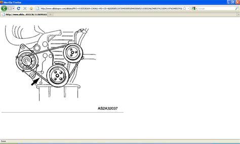 need diagram for kia sephia 01 serpatine and alternator belt