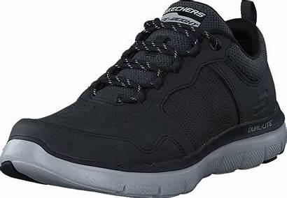 Blk Skechers Footway