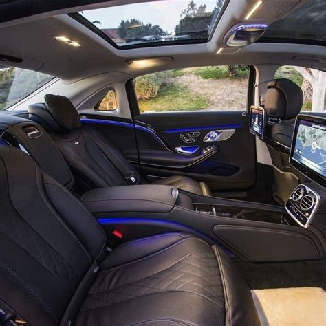 Rubellite red / obsidian black, exclusive nappa. Mercedes Benz Maybach S600 interior. CLICK the PICTURE or check out my BLOG for… | Mercedes benz ...
