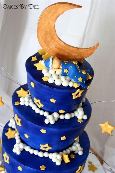 %name baby shower cakes royal blue and gold