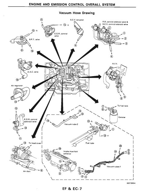 93 Nissan 240sx Engine Diagram by 1989 Nissan 240sx Ka24e Diagram Wiring Diagram Database