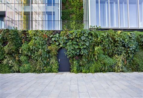 wall garden outdoor outdoor wall natura towers by vertical garden design stylepark