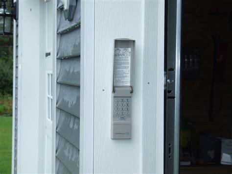 installing  remote keypad garage door opener diy project