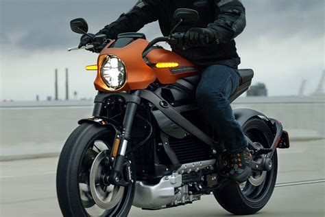 2020 Harley-davidson Livewire Electric Motorcycle