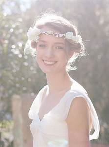 Couronne De Fleurs Cheveux Mariage : couronnes de fleurs pour cheveux mariage boh me ~ Farleysfitness.com Idées de Décoration