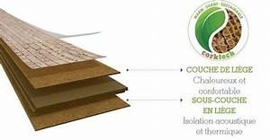 corkcomfort parquet flottant en liege acheter au With composition parquet