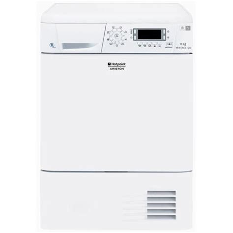 hotpoint tcdg51xb s 232 che linge 8 kg condensation classe b blanc achat vente s 232 che