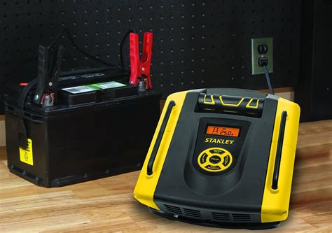 Stanley Bc1509 15 Amp Automatic Battery Charger, Batteries