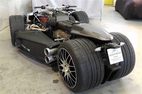 Wazuma, Four Wheel Motorcycle Engined Ferrari