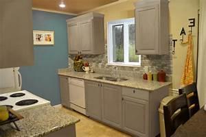 small kitchen interior featuring gray kitchen cabinet designs With interior design of kitchen cabinets