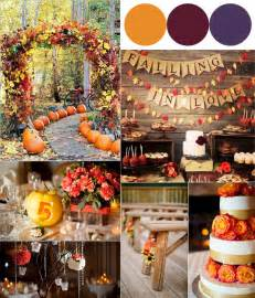 fall weddings fall wedding colour combinations 2014 burgundy orange and purple vponsale wedding custom