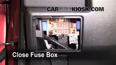 Nissan Rogue Fuse Box by Interior Fuse Box Location 2008 2013 Nissan Rogue 2008