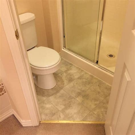 bisque  stainless appliances  bathroom upgrade