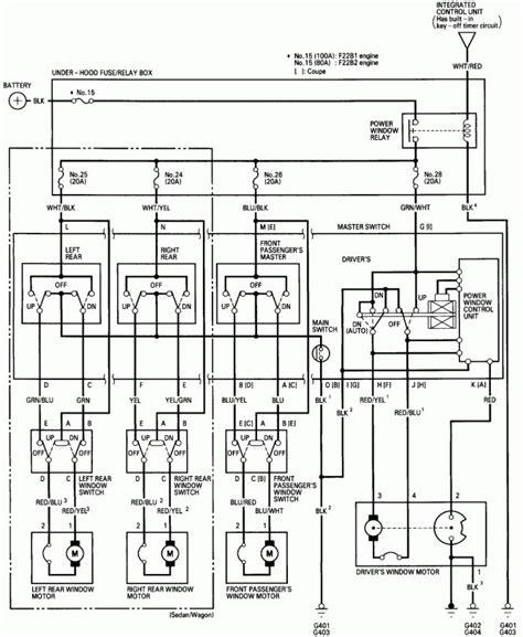 Honda Civic Sensor Wiring Diagram
