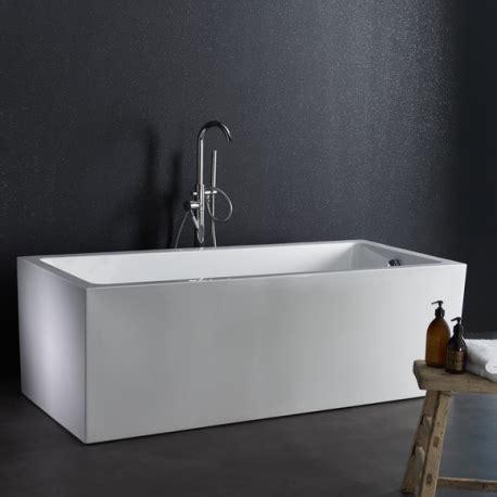baignoire ilot pas cher baignoire rectangulaire ilot design pas cher planetebain
