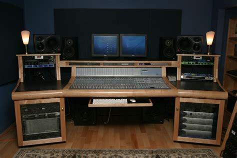 wood recording desk plans blueprints  diy