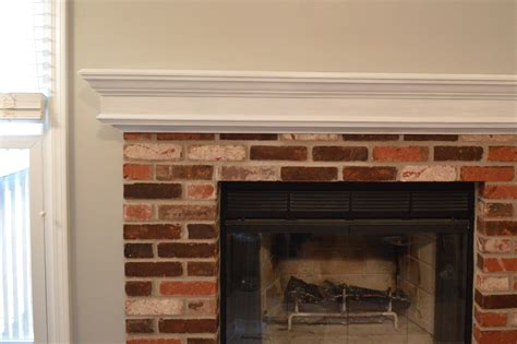 Fireplace Mantels For Brick Fireplaces Images Best 25 Painted