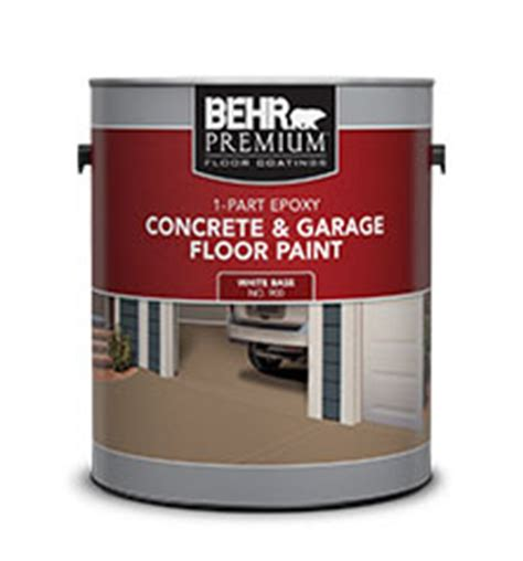 Behr Garage Floor Paint Sealer by 1 Part Epoxy Concrete Garage Floor Paint Behr Paint