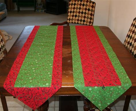 simple table runner patterns 10 minute table runner super mom no cape