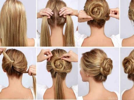 peinados recogidos pelo largo paso  paso