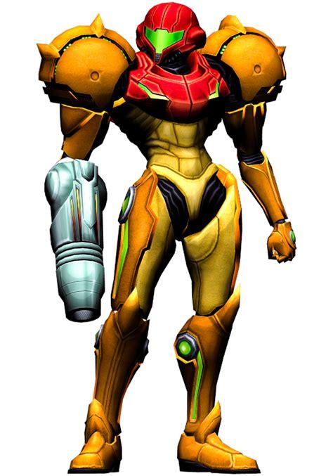 Samus Aran Metroid Prime Comic Pose Render Pack By