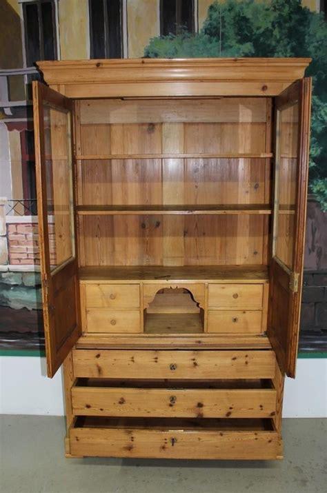 bureau bookcase pine bureau bookcase antiquites lecomte