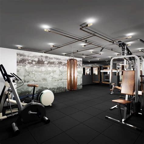 brooklyn residential building gym design with custom