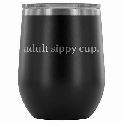 Tumbler Wine Sippy Cup Adult Tumblers 12oz