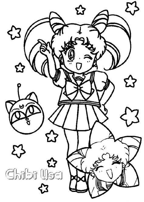 immagini kawaii da stare colorate immagini da colorare di sailor moon topmanga anime