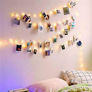 Diy, Display, Photo, String, Fairy, Light, With, Photo, Clips, Bedroom, Wall, Deco, Led, Light, For, Hanging